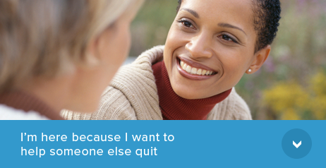 Help Someone Else Quit Smoking